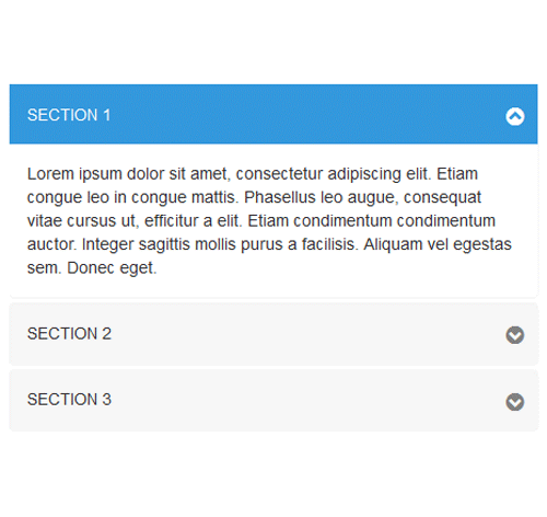 Bootstrap Accordion — стиль 13