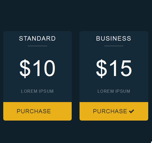 Pricing Table — стиль 26