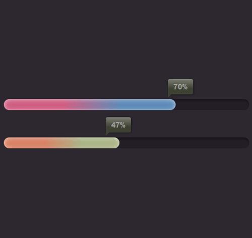 Bootstrap Progress Bar — стиль 21
