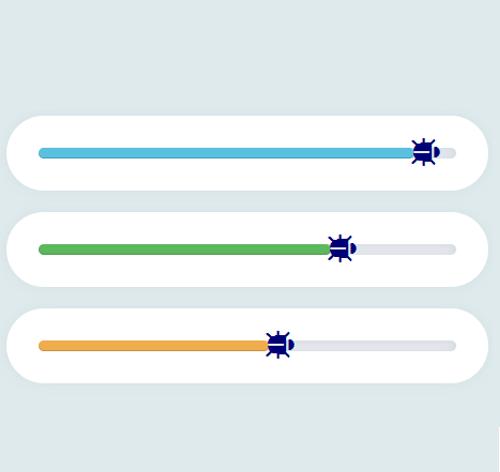 Bootstrap Progress Bar — стиль 43