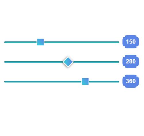 Bootstrap Range Slider — стиль 3
