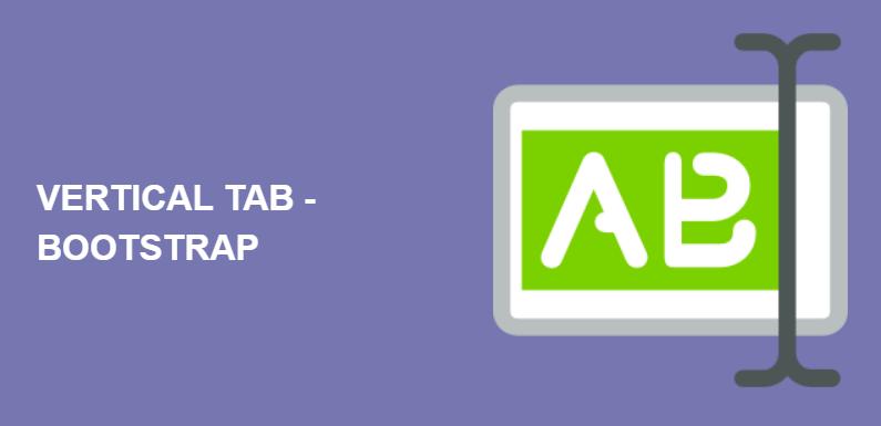 Вертикальные вкладки на Bootstrap — стиль 26