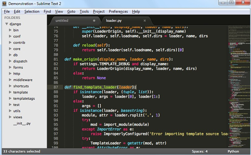 HTML верстка - sublimetext