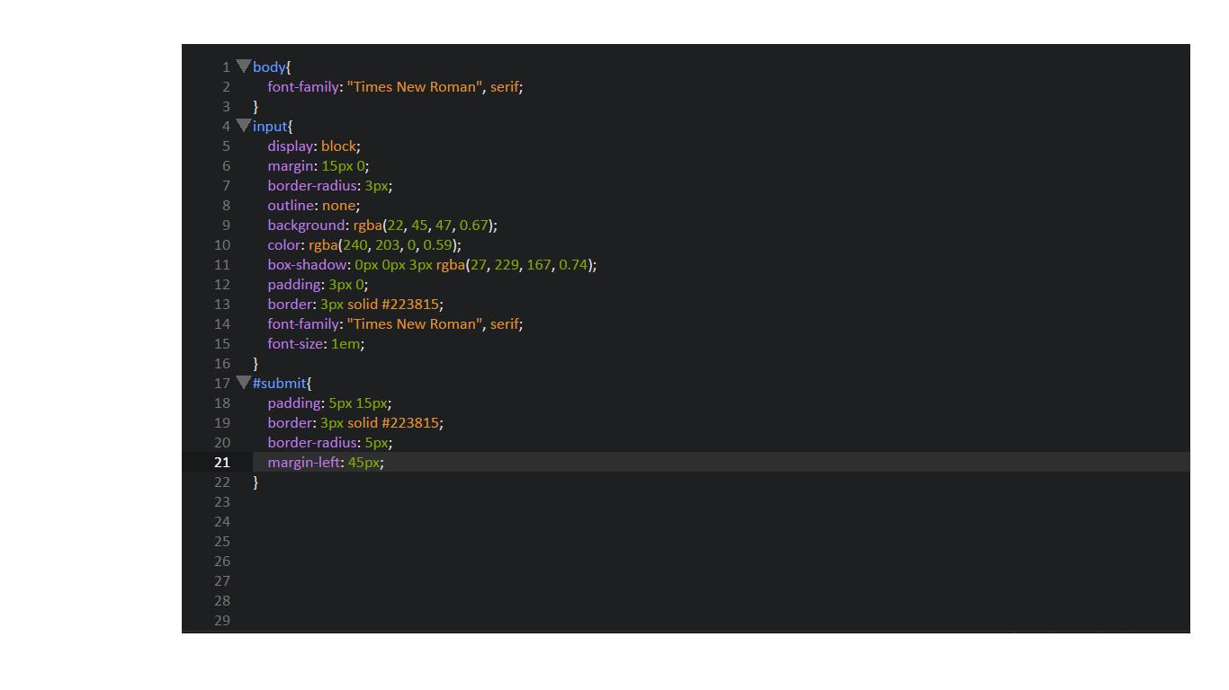 Формы HTML с примерами кода