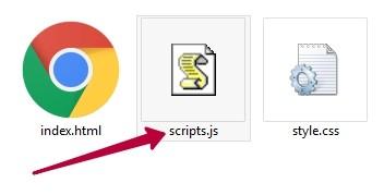 Подключение .js к HTML документу