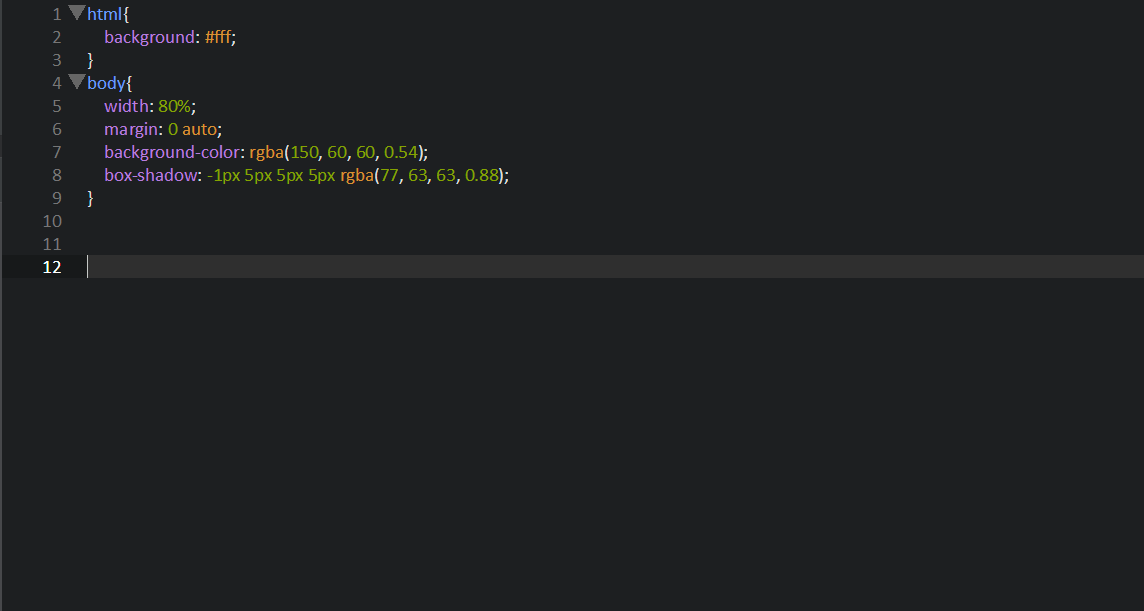 Тень CSS