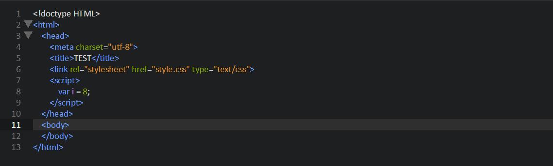 Методы вставки Javascript