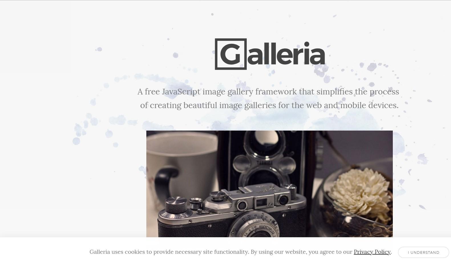 Galleria Responsive JavaScript Image Gallery