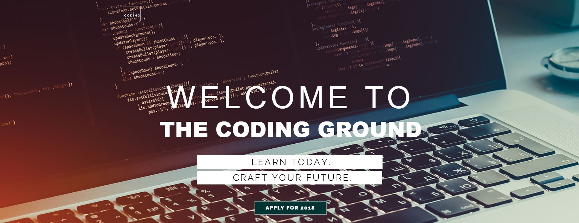 The Coding Ground Learn Today. Craft the Future.