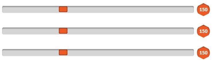 Bootstrap Range Slider — стиль 5 - Google Chrome