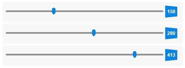 Range Slider Style Demo 12 - Google Chrome