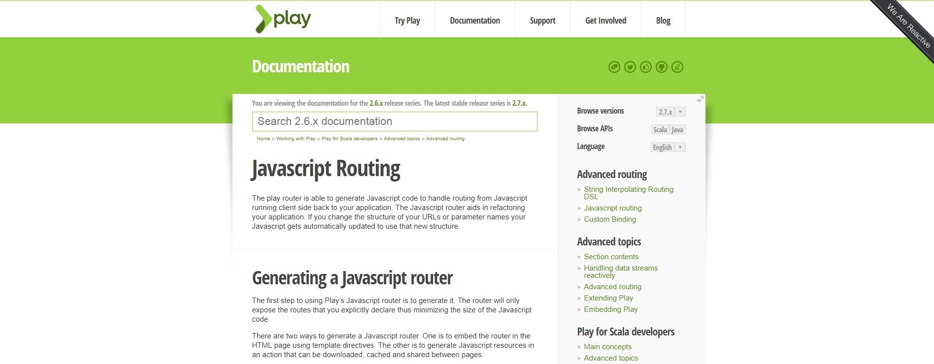 ScalaJavascriptRouting